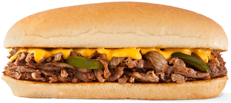 Image of a Philadelphia cheesesteak