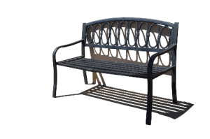 Image of a park bench