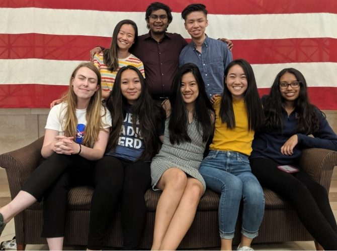 The Civic Digital Fellows who worked at BLS in summer 2019