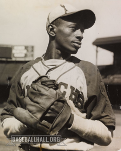 Satchel Paige of the Kansas City Monarchs